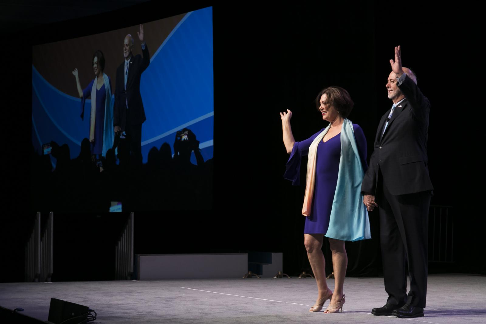 2018-19 RI President Barry Rassin announces his presidential theme, Be The Inspiration